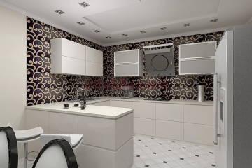 дизайн кухни hi-tec