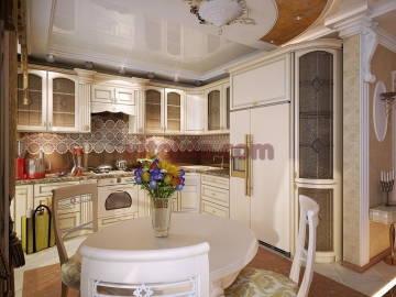 дорогой дизайн интерьера кухни
