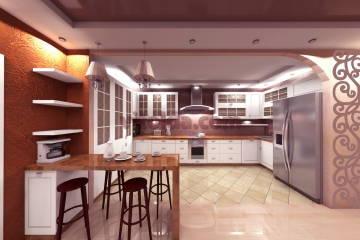 вид кухни