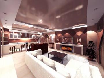 Дизайн гостинной 2