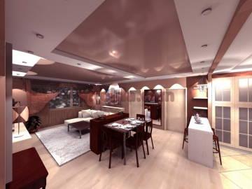 Дизайн гостинной 3
