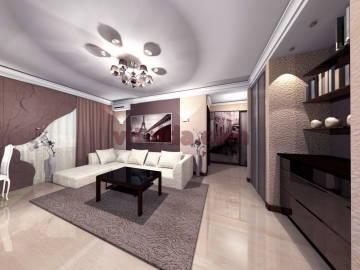 Дизайн интерьера гостинной 4