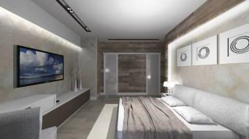 Интерьер светлой спальни - 1