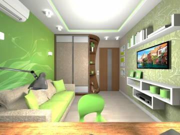 ДЕТСКАЯ зеленая 3
