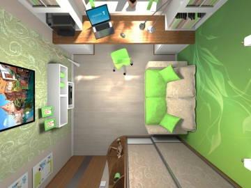 ДЕТСКАЯ зеленая 1