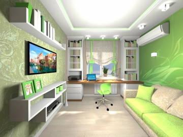 ДЕТСКАЯ зеленая 2