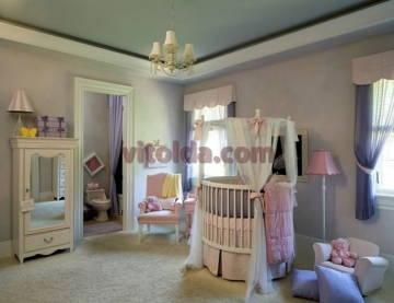 Дизайн интерьера детской 2