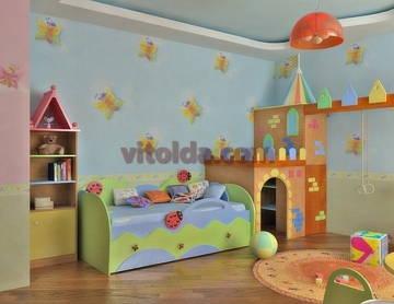 Дизайн интерьера детской 5