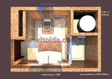Дизайн санузла 9