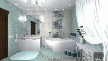 Ванная new бирюза3